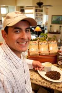 Alberto Boleres, owner of Boleres Coffee