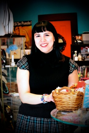 Laura Arellano, owner of Blue Betties Boutique