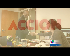 Accion featured on Univision